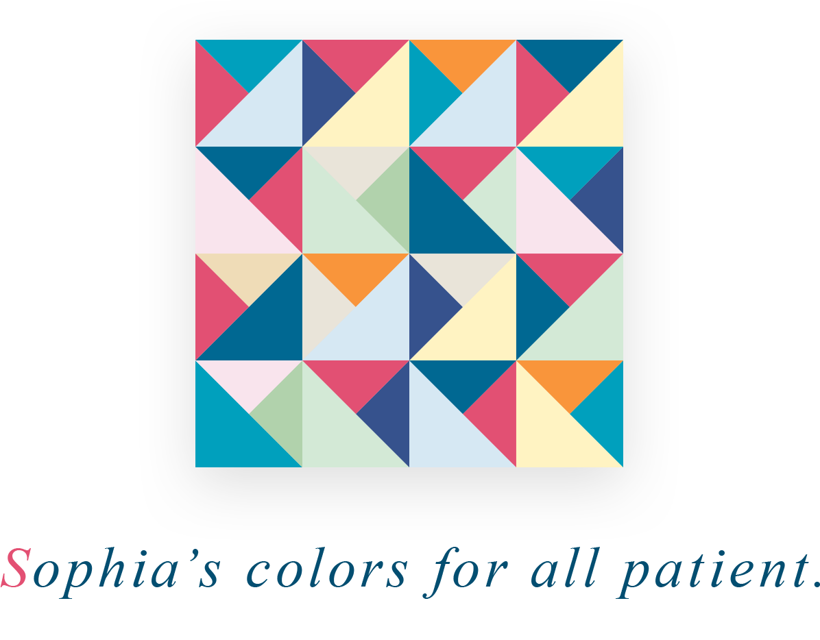 Sophia's colors for all patient.